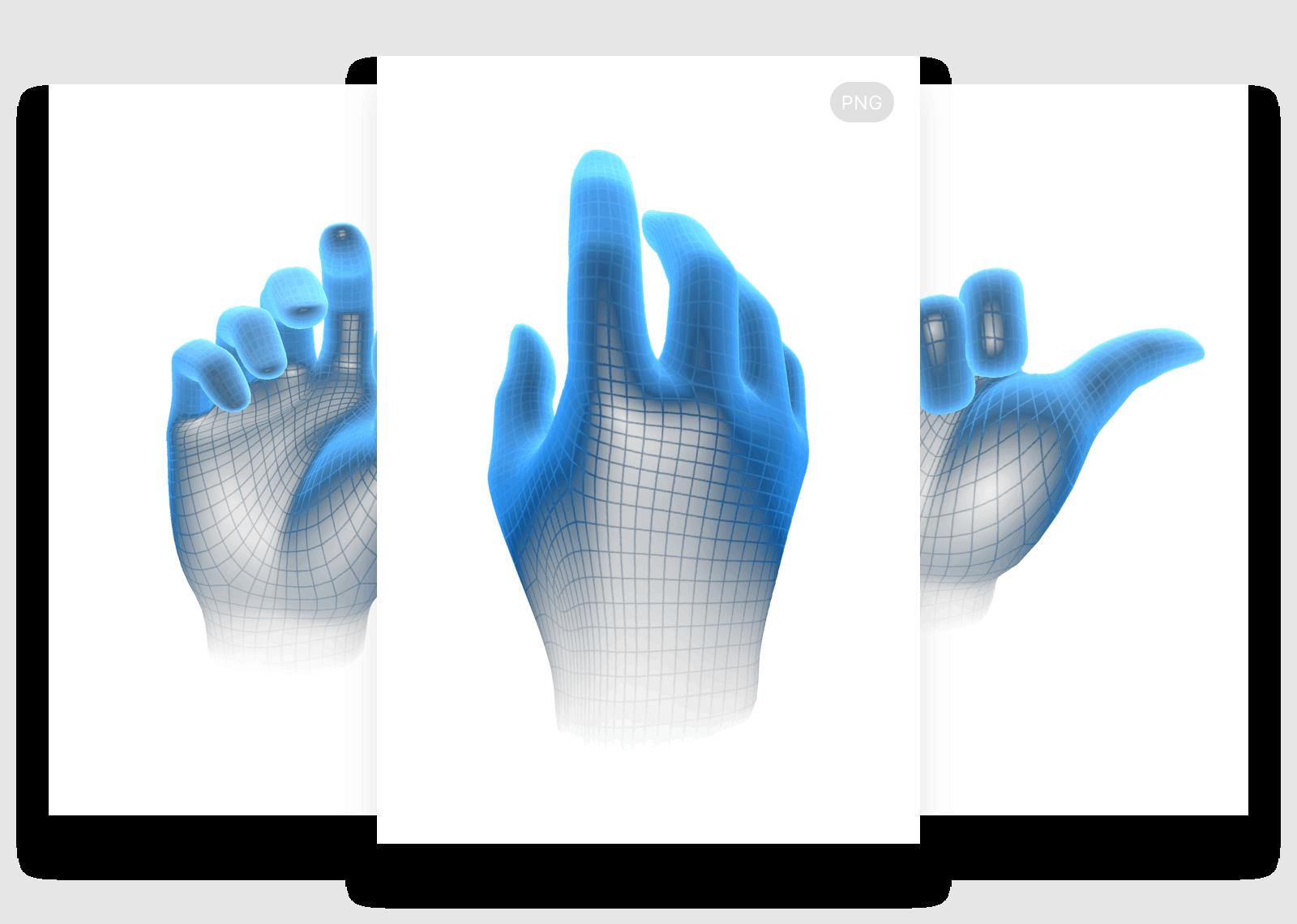 Virtual Hands.