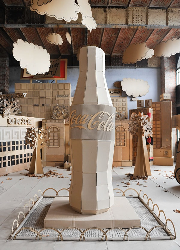 Крафт дизайн кока-кола